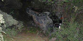 AKP konvoyunda kaza: 2'si ağır 7 polis yaralı