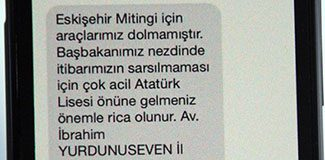 AKP'li başkandan uyarı mesajı!