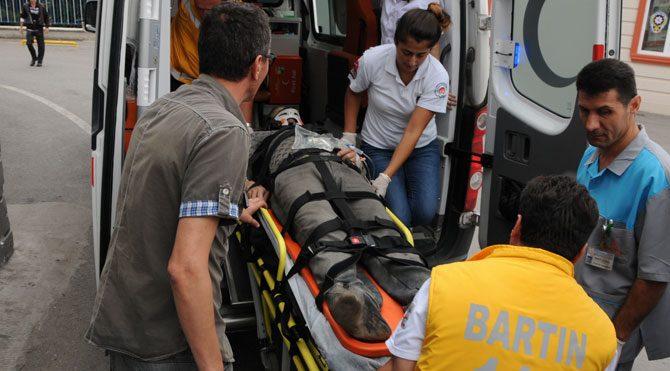 Bartın'da göçük 1 Çinli öldü!