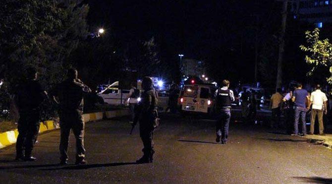 Polise silahlı saldırı: 2 polis yaralı