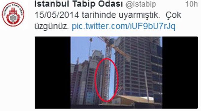 Tabip Odası'nın 4 ay önce attığı şok tweet