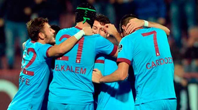 Karadeniz'de gülen Trabzonspor