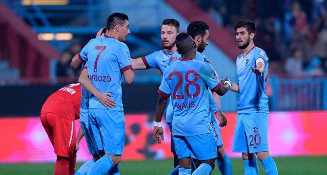 9-0'lık Trabzonspor Manisaspor maçı golleri ve özeti (Ziraat Türkiye Kupası)