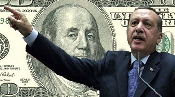 Dolar artınca Erdoğanlar da kazandı
