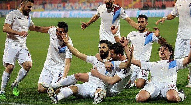 Mersin İ.Y. 1 - Trabzonspor 5 maç özeti ve golleri (Video Özet)