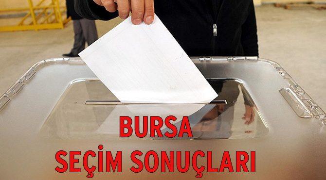 Bursa seçim sonuçları açıklandı – 2015 Genel Seçim son durum