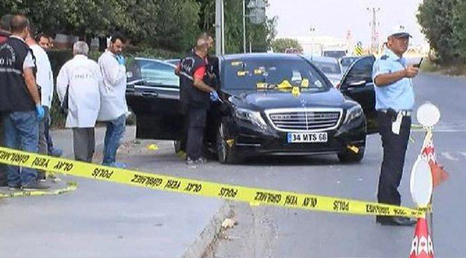Murat Sancak'ın aracı kurşunlandı