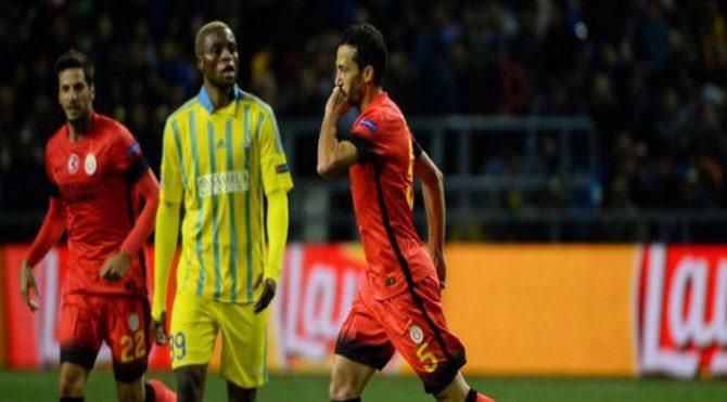 Astana 2-2 Galatasaray geniş maç özeti - Astana GS maçı özet izle