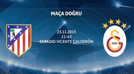 Atletico Madrid Galatasaray maçı izle! (Şifresiz kanallar, Sky Sport, idman TV, Az TV, beIN Sport)