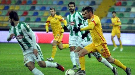 Konyaspor zirveyi garantiledi