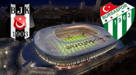 Beşiktaş Bursaspor maç özeti izle - BJK Bursa maçı goller, önemli anları