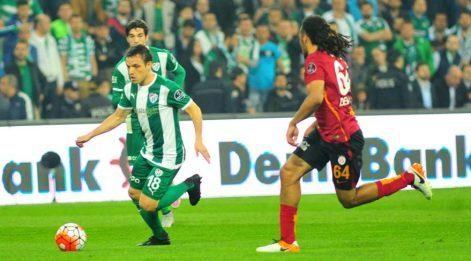 Bursaspor - Galatasaray maç özeti izle (Bursa 1-1 Galatasaray)
