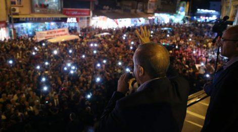 Erdoğan acil servisi kapattı
