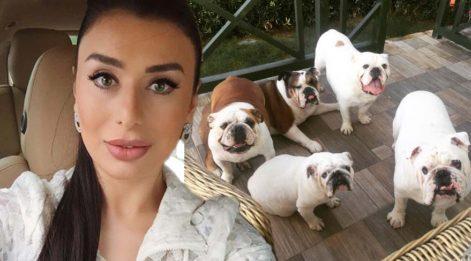 Ebru Şancı Bodrum'daki villasını köpeklerine bıraktı