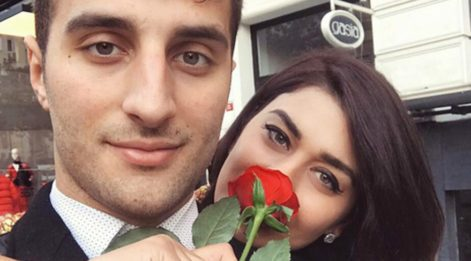 Ebru Şancı Öztürk, eşinin fotoğrafını paylaştı