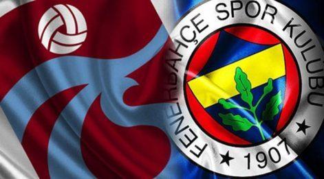 Trabzonspor Fenerbahçe maç özeti ve golleri: Fenerbahçe 3 puanı 3 golle buldu!