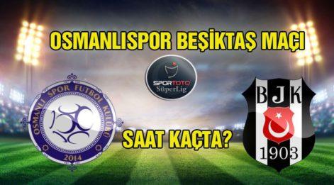 Osmanlıspor Beşiktaş maçı ne zaman, saat kaçta, hangi kanalda? Şifresiz nasıl izlenir?
