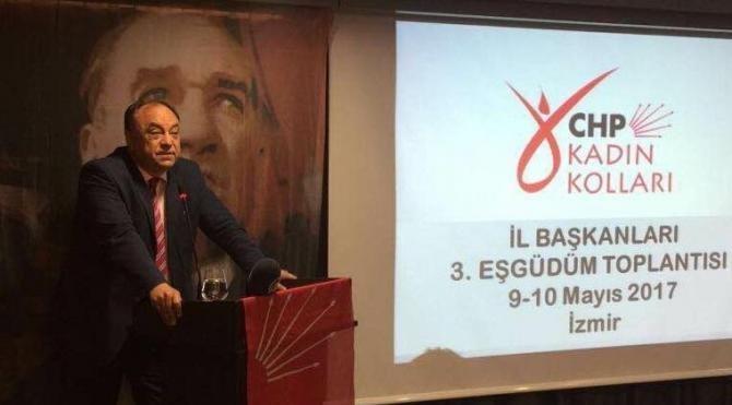 CHP Kadın Kolları İl Başkanları toplandı