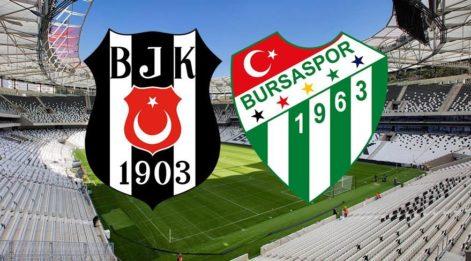 İşte Güneş'in 11'i! Beşiktaş Bursaspor maçı saat kaçta hangi kanalda canlı yayınlacak? BJK Bursa maç saati yaklaşıyor! (Şifresiz kanalda mı?)