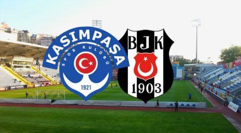 Kasımpaşa Beşiktaş maçı canlı izle! BJK maçını yayınlayacak uydu kanalları listesi! (CANLI YAYIN)