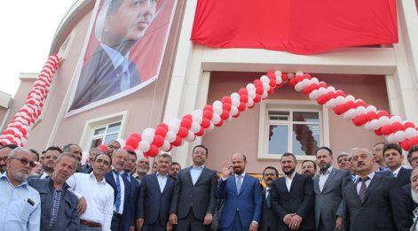 Bilal Erdoğan, babasının isminin verildiği okulu açtı