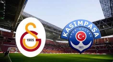 Nefesler tutuldu! Galatasaray Kasımpaşa maçı hangi kanalda saat kaçta? GS Kasımpaşa maçı başlıyor...