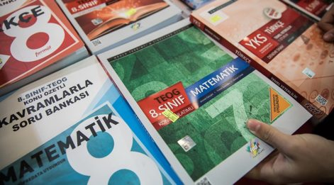Sınav sistemi değişti 100 milyon kitap elde kaldı