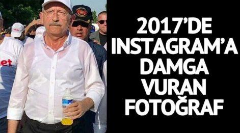Instagram takipçilerinin 2017'de en çok beğendiği SÖZCÜ iletisi Kılıçdaroğlu'nun Adalet Yürüşü'ndeki o fotoğrafı oldu