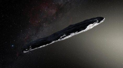 Tarihi değiştirecek keşif: İlk gizemli meteor Oumuamua!