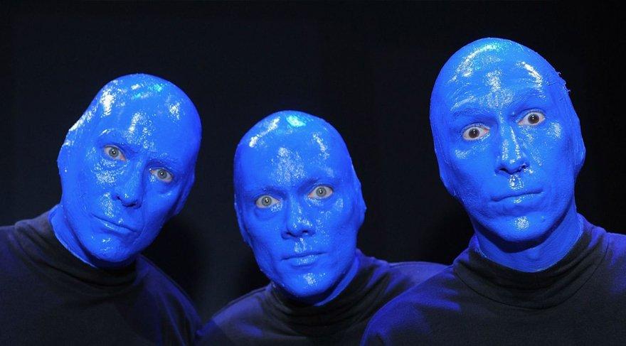 Blue Man Group heyecanı başlıyor