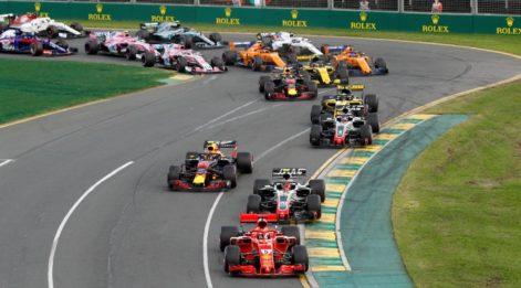 Ferrari'nin Melbourne şovu!
