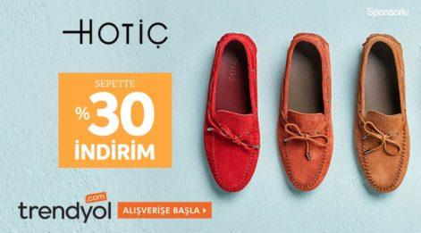 Hotiç Kadın Ayakkabı Koleksiyonunda Büyük İndirim Fırsatı(Erkek)