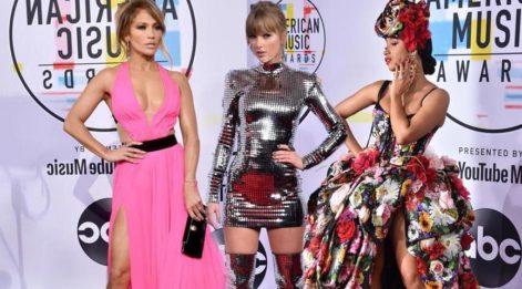 Amerikan Müzik Ödülleri 2018 kırmızı halısı