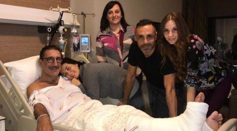 Cem Özer'e hastane ziyareti!