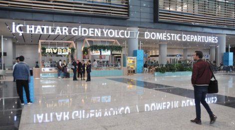 Üçüncü havalimanında çalışan şirket konkordato ilan etti