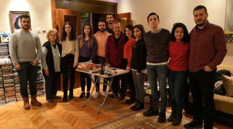 Ünlü yönetmen Tunç Başaran gençlerle bir araya geldi