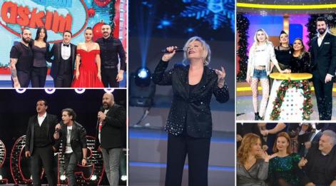 Yılbaşında hangi kanalda hangi program var? Yılbaşı gecesi televizyondaki diziler ve programlar listesi...