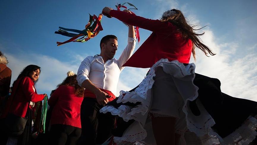İspanya'nın renkli festivali Verdiales