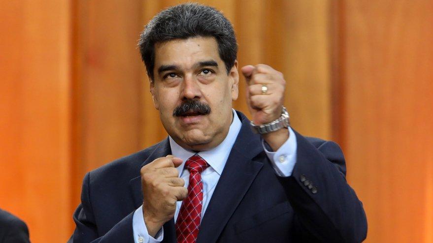 Maduro'dan ABD'ye rest