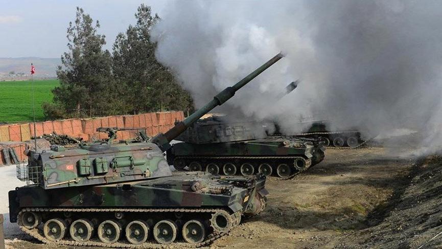 TSK'dan Suriye'ye obüs operasyonu