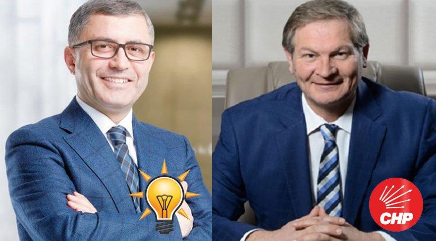 Üsküdar'daki yarış AKP'li Hilmi Türkmen ile CHP'li Ahmet Kılıç arasında geçecek.