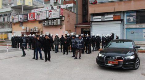 Gaziantep'te HDP'lilerin yürüyüşüne polis izin vermedi
