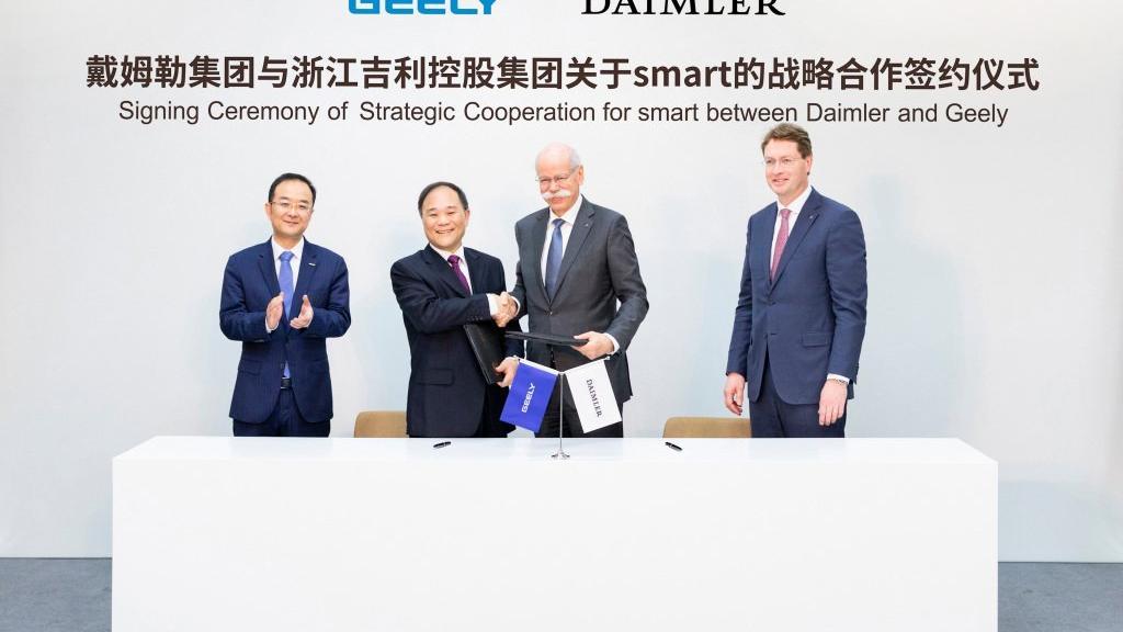 Daimler ve Geely Smart'ı Çin'de üretecek!