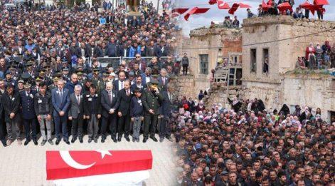 Şehit Uzman Onbaşı'nın cenazesi gözyaşlarıyla uğurlandı
