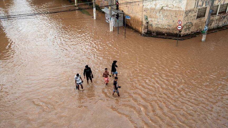 Brezilya'daki şiddetli yağışlarda onlarca ölü