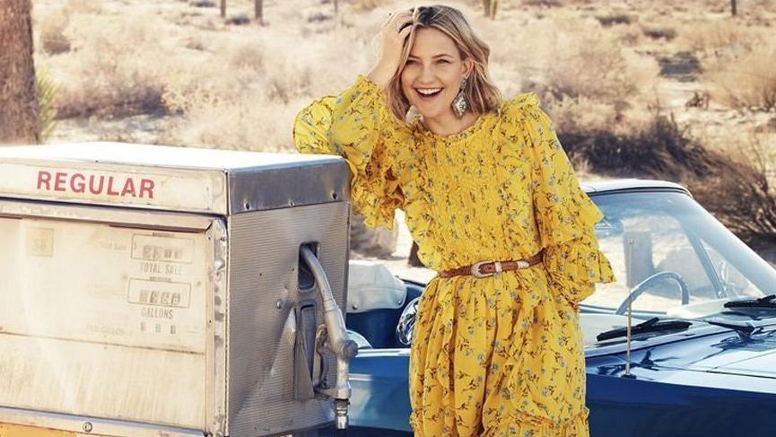 Kate Hudson'ın yeni giyim markası Happy x Nature piyasada