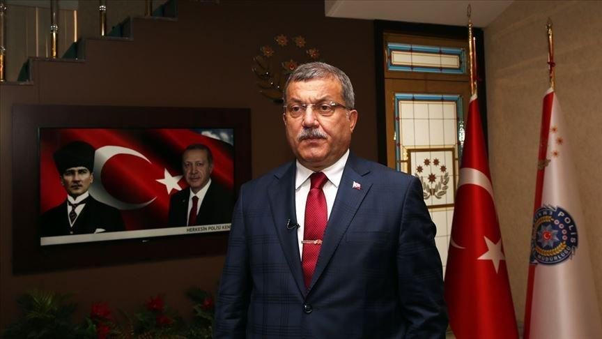 Celal Uzunkaya Türk Polis Teşkilatının kuruluş yıl dönümünü kutladı