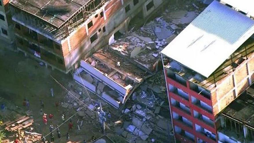 Brezilya'da bina çöktü: Çok sayıda ölü ve yaralı var