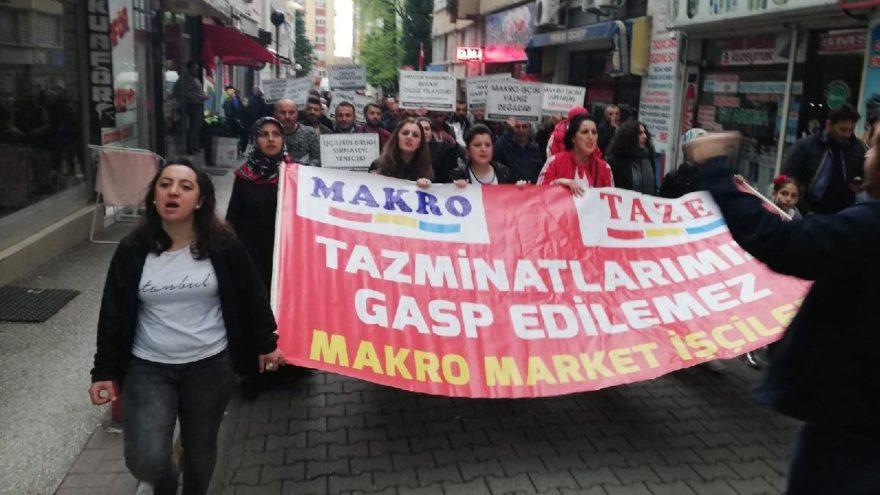 Samsun'da işçiler 37 haftadır eylemde