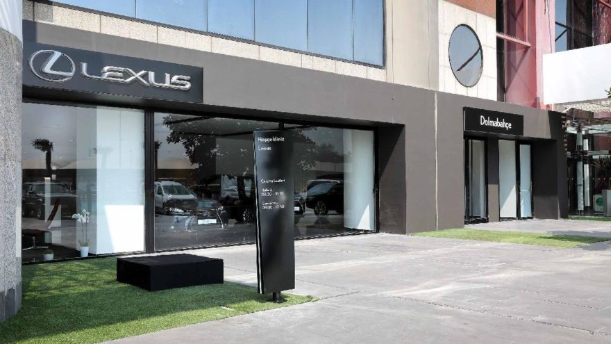Lexus Dolmabahçe'ye taşındı!